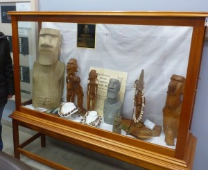 Easter Island Display